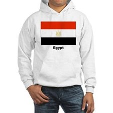 Egypt Egyptian Flag (Front) Hoodie