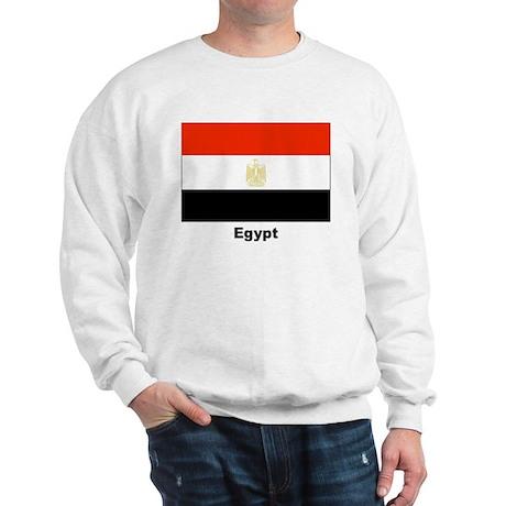 Egypt Egyptian Flag (Front) Sweatshirt