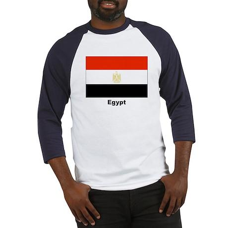 Egypt Egyptian Flag Baseball Jersey