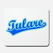 Retro Tulare (Blue) Mousepad
