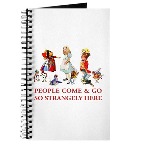 PEOPLE COME & GO Journal