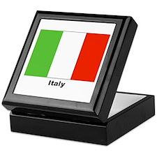 Italy Italian Flag Keepsake Box