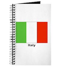 Italy Italian Flag Journal