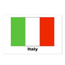 Italy Italian Flag Postcards (Package of 8)