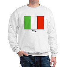 Italy Italian Flag (Front) Sweatshirt