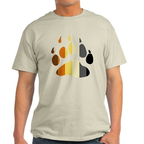 Bear Strip Paw Light T-Shirt