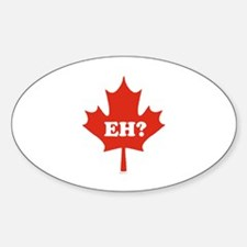 Eh? ~ Oval Decal