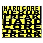 HardCore Jesus freak Small Poster