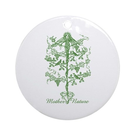 Mother Nature Ornament (Round)