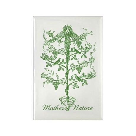 Mother Nature Rectangle Magnet (10 pack)