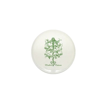 Mother Nature Mini Button (10 pack)