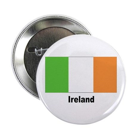 Ireland Irish Flag Button