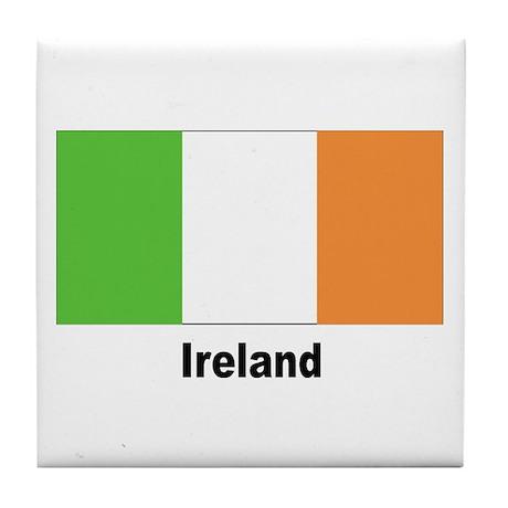Ireland Irish Flag Tile Coaster