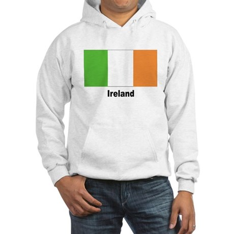 Ireland Irish Flag (Front) Hooded Sweatshirt