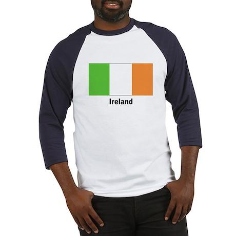 Ireland Irish Flag Baseball Jersey