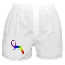 Rainbow Gay Pride Gecko Boxer Shorts