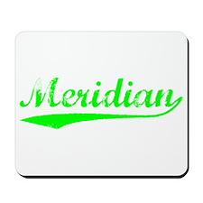 Vintage Meridian (Green) Mousepad