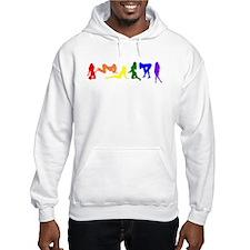 Rainbow Women Hoodie