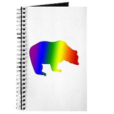Rainbow Gay Pride Bear Journal