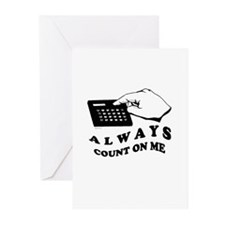 Always count on me ~ Greeting Cards (Pk of 10