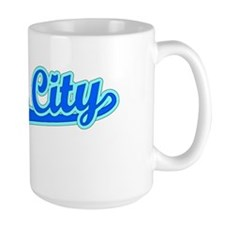 Retro Union City (Blue) Mug