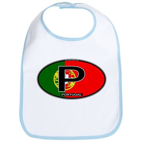Portugal Oval Colors Bib