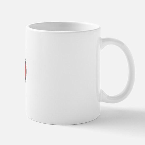 Portugal Oval Colors Mug
