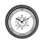 2nd Pentacle of Jupiter honor & riches Wall Clock