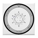 2nd Pentacle of Jupiter honor & riches Tile Coaste