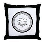 2nd Pentacle of Jupiter honor & riches Throw Pillo
