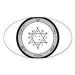 2nd Pentacle of Jupiter honor & riches Sticker (Ov