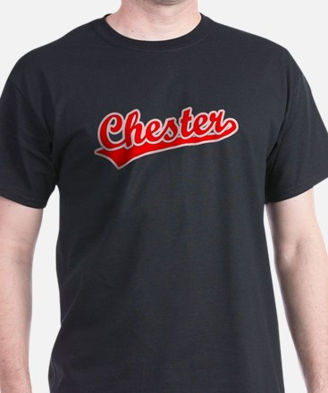 Retro Chester (Red) T-Shirt