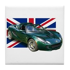 LRG Elise UK Tile Coaster