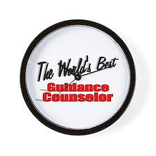 """ The World's Best Guidance Counselor"" Wall Clock"