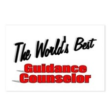 """ The World's Best Guidance Counselor"" Postcards ("