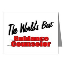 """"""" The World's Best Guidance Counselor"""" Note Cards"""