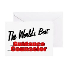 """"""" The World's Best Guidance Counselor"""" Greeting Ca"""