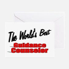 """ The World's Best Guidance Counselor"" Greeting Ca"