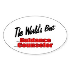 """"""" The World's Best Guidance Counselor"""" Decal"""