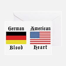 German American Greeting Card