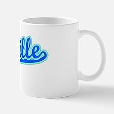 Retro Vacaville (Blue) Mug