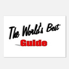 """""""The World's Best Guide"""" Postcards (Package of 8)"""