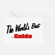 """""""The World's Best Guide"""" Greeting Card"""