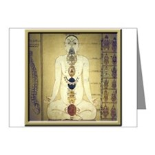 Chakras system Note Cards (Pk of 10)