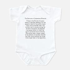 Preamble to Declaration  Infant Bodysuit