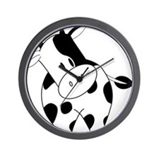 Cute Cow Wall Clock