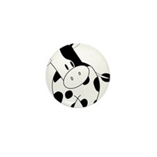 Cute Cow Mini Button