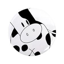 "Cute Cow 3.5"" Button (100 pack)"
