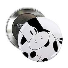 "Cute Cow 2.25"" Button (10 pack)"