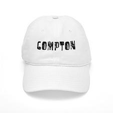 Compton Faded (Black) Baseball Cap